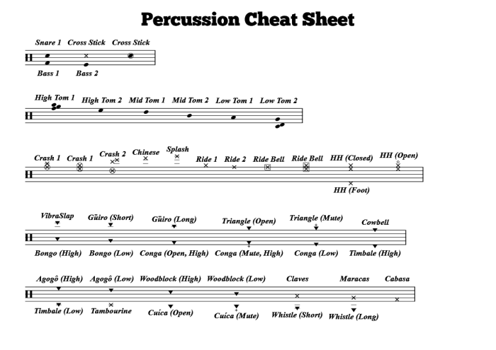tips for percussionists musink help music notation editor software free download. Black Bedroom Furniture Sets. Home Design Ideas